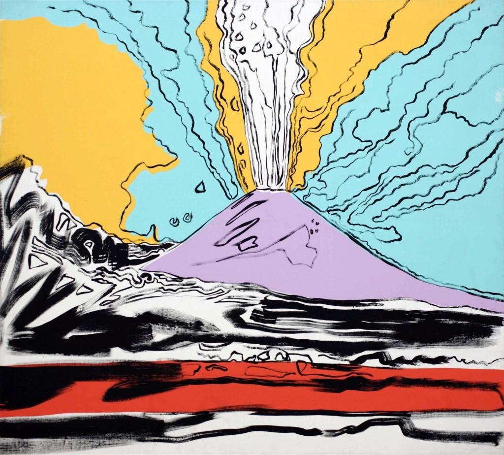 Vesuvius - Andy Wahrol