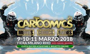 """Al via """"Cartoomics"""", l'esposizione dedicata all'ottava arte: il fumetto"""
