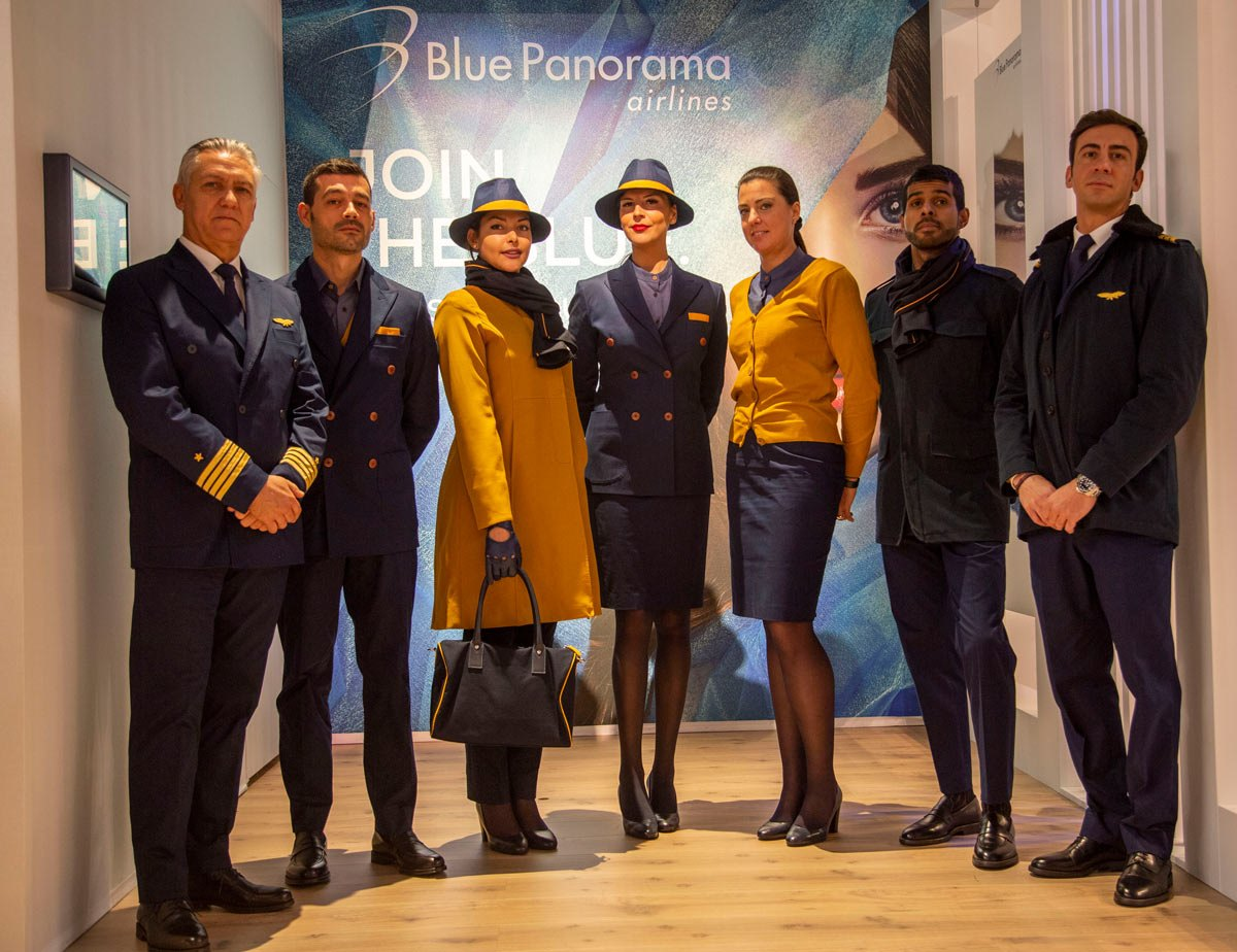 NUOVE DIVISE PER BLUE PANORAMA AIRLINES