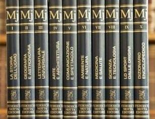 Federico Motta Editore e l'importanza della sua enciclopedia Motta Junior
