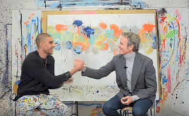 La vita a colpi di colore: Alessandro Benetton incontra Omar Hassan