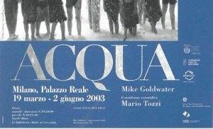 """""""ACQUA"""", una mostra prodotta da Federico Motta Editore in collaborazione con Green Cross"""