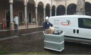 Serenissima Ristorazione dona 140 chili di mozzarelle alle strutture del territorio