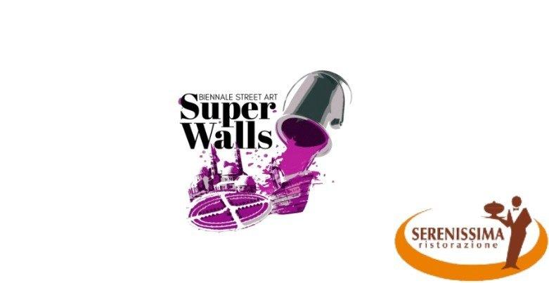 """Serenissima Ristorazione a sostegno di """"Super Walls 2021"""", la Biennale della street art in programma a Padova e Abano Terme"""