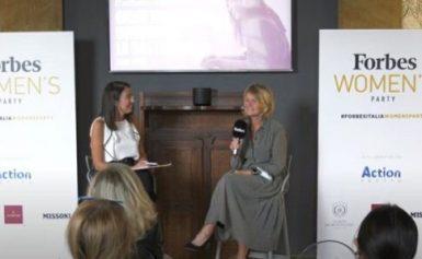 """""""Forbes Women's Week"""" 2021: l'intervento di Carlotta Ventura (A2A)"""